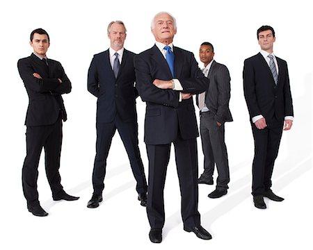 five - Portrait of businessmen Stock Photo - Premium Royalty-Free, Code: 614-06311804