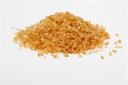sugar - Brown sugar crystals Stock Photo - Premium Royalty-Free, Code: 614-06312088