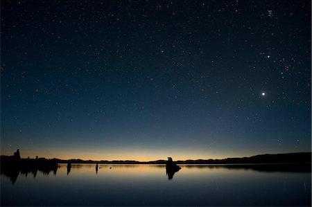 dreamy - Tufa rock formation, mono lake, california, usa Stock Photo - Premium Royalty-Free, Code: 614-06336214