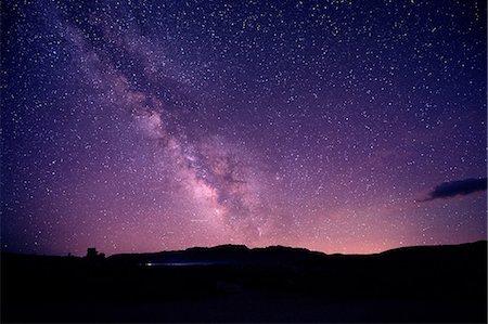 sky stars - Starry sky at night, mono lake, california, usa Stock Photo - Premium Royalty-Free, Code: 614-06336210