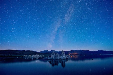 dreamy - Tufa rock formation, mono lake, california, usa Stock Photo - Premium Royalty-Free, Code: 614-06336213