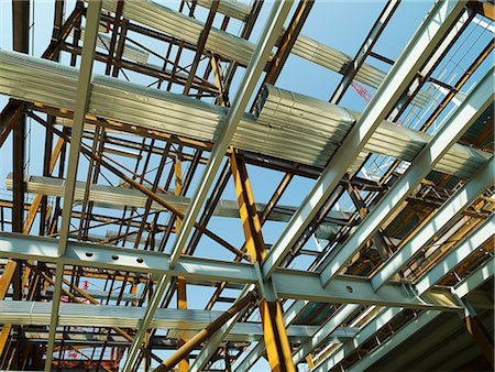 Building under construction Stock Photo - Premium Royalty-Free, Code: 614-06403099