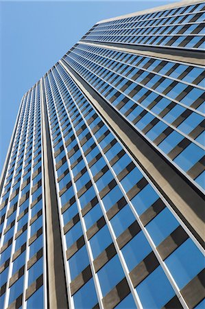Low angle view of office building Stock Photo - Premium Royalty-Free, Code: 614-06442803
