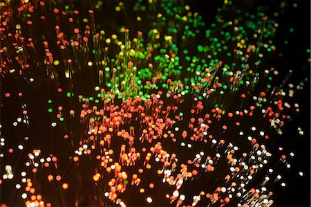 fiber optics nobody - Fibre optic cables Stock Photo - Premium Royalty-Free, Code: 614-06442980