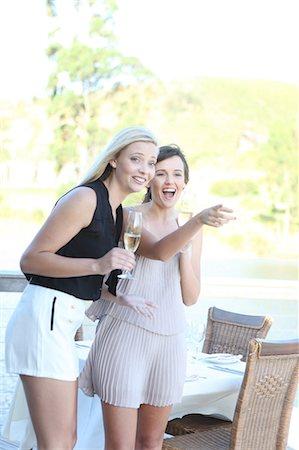 Women admiring scenery outdoors Stock Photo - Premium Royalty-Free, Code: 614-06537004