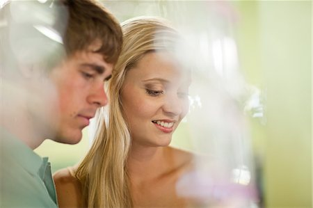 Couple shopping together in store Stock Photo - Premium Royalty-Free, Code: 614-06537287