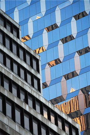 pattern - Windows of urban skyscrapers Stock Photo - Premium Royalty-Free, Code: 614-06624634