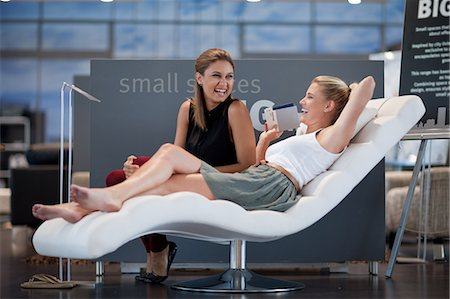 Women shopping for furniture in store Stock Photo - Premium Royalty-Free, Code: 614-06718388