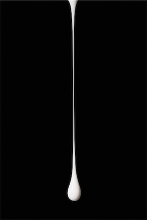 droplet - Drop of white paint Stock Photo - Premium Royalty-Free, Code: 614-06719445