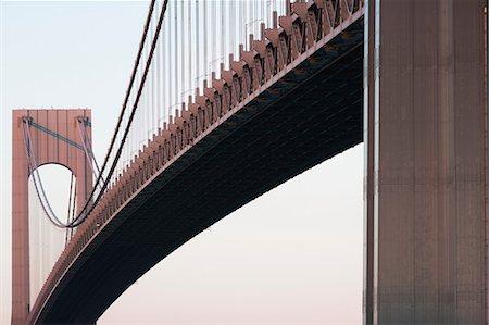 Verrazano-narrows bridge, New York City, USA Stock Photo - Premium Royalty-Free, Code: 614-06813314