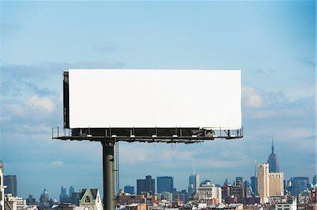 rectangle - Blank billboard, New York City, USA Stock Photo - Premium Royalty-Free, Code: 614-06813321
