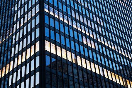 Office buildings, close-up corner view Stock Photo - Premium Royalty-Free, Code: 614-06813399