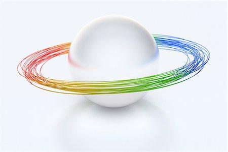 Planetary rings Stock Photo - Premium Royalty-Free, Code: 614-06813421
