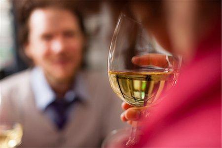 Couple at restaurant Stock Photo - Premium Royalty-Free, Code: 614-06813644