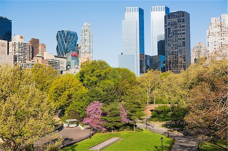 Central Park, New York City, USA Fotografie stock - Premium Royalty-Free, Codice: 614-06896440
