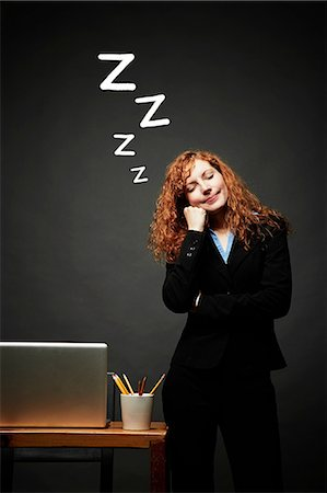 Woman in sweet slumber Stock Photo - Premium Royalty-Free, Code: 614-06898241