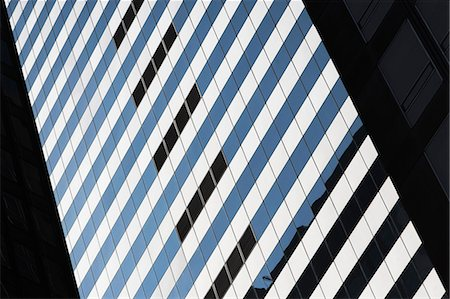 pattern (man made design) - Detail of skyscraper in New York City, USA Stock Photo - Premium Royalty-Free, Code: 614-06974149