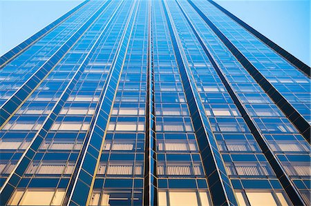 pattern - Oblique view of skyscraper, New York City, USA Stock Photo - Premium Royalty-Free, Code: 614-06974192