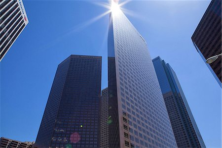 Modern skyscrapers in downtown Los Angeles, USA Stockbilder - Premium RF Lizenzfrei, Bildnummer: 614-06974428