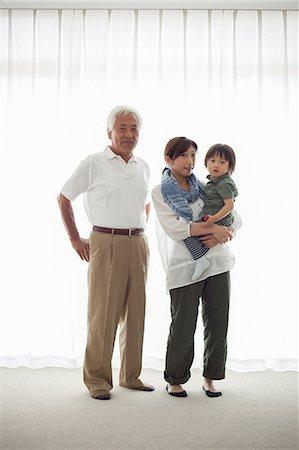 Three generation family, portrait Stock Photo - Premium Royalty-Free, Code: 614-07031637