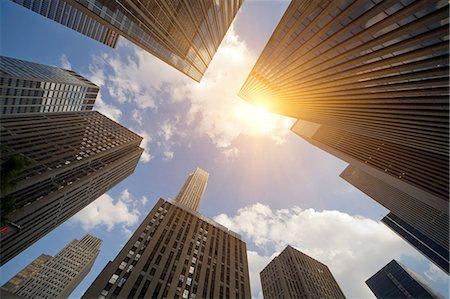 Skyscrapers, New York, New York State, USA Stock Photo - Premium Royalty-Free, Code: 614-07145757