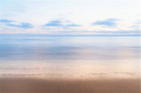 scenic view - Tranquil sea, Encinitas, California, USA Stock Photo - Premium Royalty-Free, Code: 614-07194653