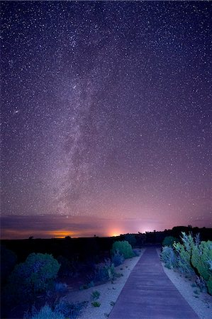 purple - Stars in night sky, Moab, Utah, USA Stock Photo - Premium Royalty-Free, Code: 614-07239923