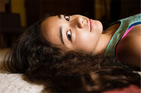 filipina - Portrait of teenage girl Stock Photo - Premium Royalty-Free, Code: 614-07443935