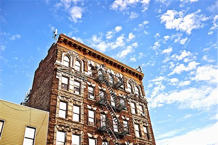 flat (apartment) - Apartment block, Brooklyn, New York, USA Stock Photo - Premium Royalty-Free, Code: 614-07911730