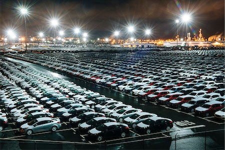 New cars in lot Stock Photo - Premium Royalty-Free, Code: 614-08065970