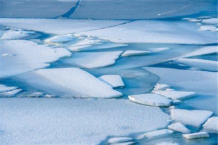 Cracked ice and snow, Reine, Norway Stock Photo - Premium Royalty-Free, Code: 614-08120038