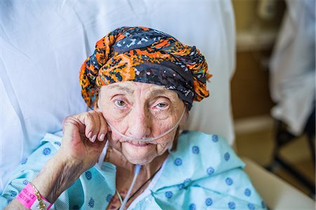 Patient on hospital bed, close up Stock Photo - Premium Royalty-Free, Code: 614-08578415