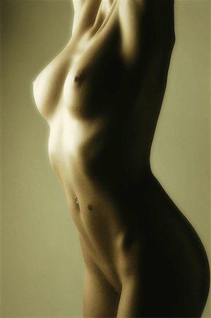Female nude Stock Photo - Premium Royalty-Free, Code: 614-00386064
