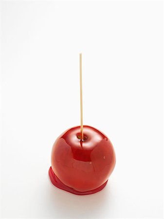 red stick candy - Toffee apple Stock Photo - Premium Royalty-Free, Code: 614-00944741