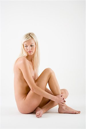 Nude young woman Stock Photo - Premium Royalty-Free, Code: 614-01179436