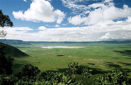 serengeti national park - Landscape of ngorongoro crater Stock Photo - Premium Royalty-Free, Code: 614-01561195