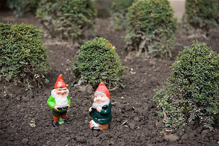 dwarf - Two gnomes Stock Photo - Premium Royalty-Free, Code: 614-01821775