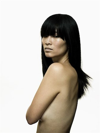 Nude woman Stock Photo - Premium Royalty-Free, Code: 614-01869869