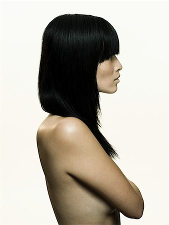 Nude woman Stock Photo - Premium Royalty-Free, Code: 614-01869914