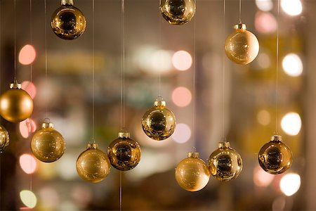 Christmas baubles Stock Photo - Premium Royalty-Free, Code: 614-02241057
