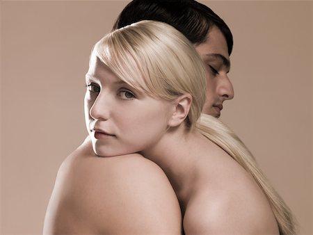 Couple hugging Stock Photo - Premium Royalty-Free, Code: 614-02258289