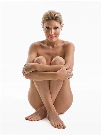 Nude woman sitting Stock Photo - Premium Royalty-Free, Code: 614-02739473