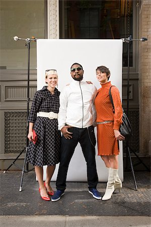 Man with two women Stock Photo - Premium Royalty-Free, Code: 614-02739789