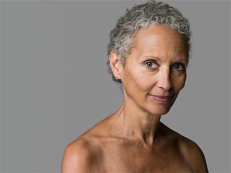 Portrait of a senior woman Stock Photo - Premium Royalty-Free, Code: 614-02740243