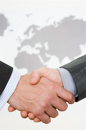 Handshake Stock Photo - Premium Royalty-Free, Code: 614-02933987