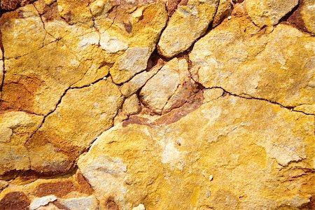 Close up image of cracked rocks Stock Photo - Premium Royalty-Free, Code: 614-02985427