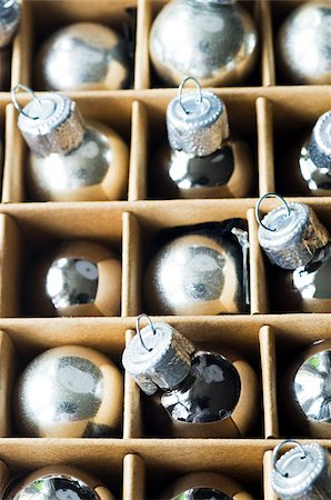 Christmas baubles Stock Photo - Premium Royalty-Free, Code: 614-03080374