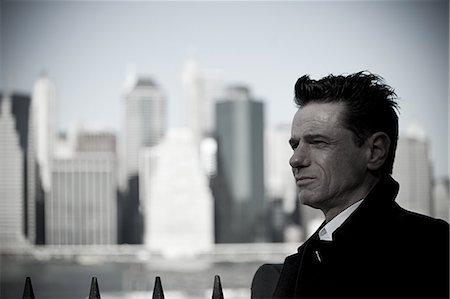 Man in new york city Stock Photo - Premium Royalty-Free, Code: 614-03455129