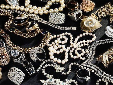 expensive jewelry - Jewelry Stock Photo - Premium Royalty-Free, Code: 614-03468719