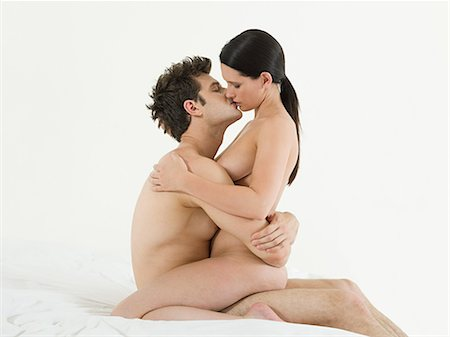 Young couple making love Stock Photo - Premium Royalty-Free, Code: 614-03647995